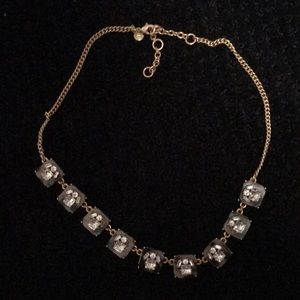 Jcrew tortoiseshell statement necklace